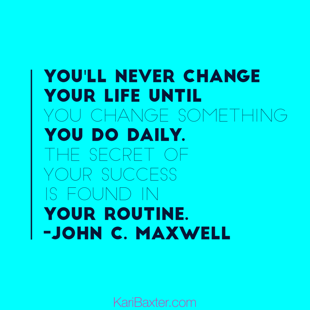 Daily routine for network marketers