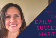 What are your daily success habits?